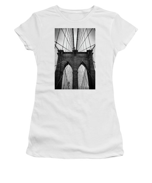 Brooklyn Bridge Wall Art Women's T-Shirt