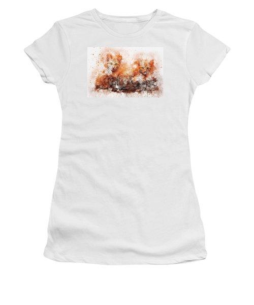 Brothers Cat Women's T-Shirt