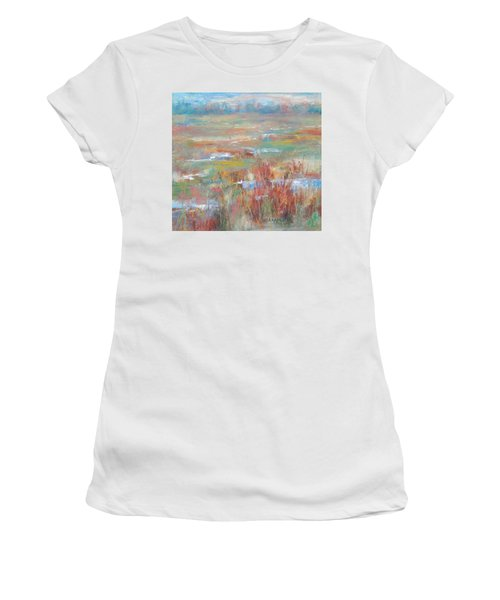 Brush Creek In Abstract Women's T-Shirt