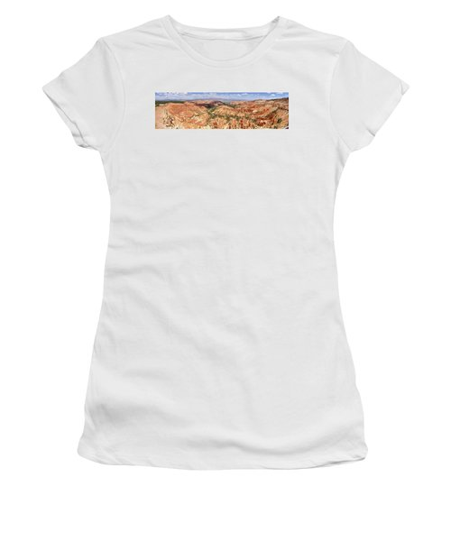 Women's T-Shirt (Athletic Fit) featuring the photograph Bryce Canyon Hoodoos by Mark Duehmig