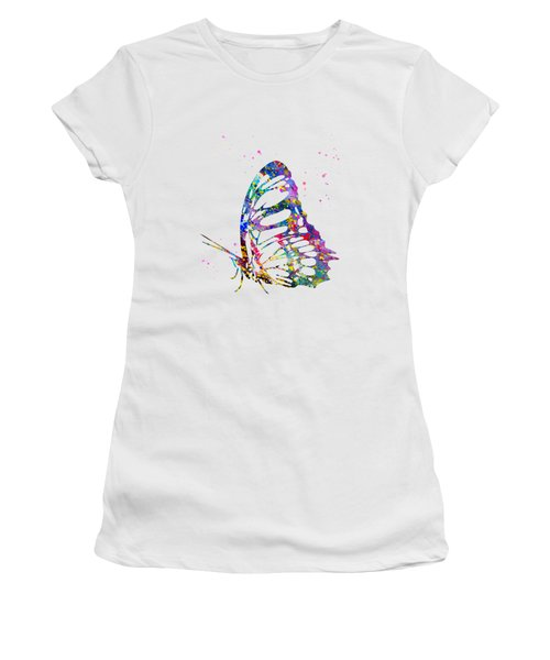 Butterfly-colorful Women's T-Shirt