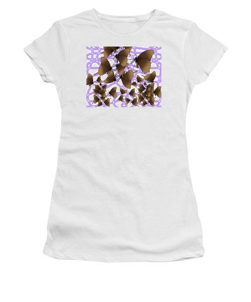 Butterfly Patterns 16 Women's T-Shirt