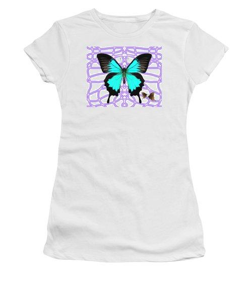 Butterfly Patterns 18 Women's T-Shirt