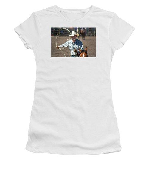 Calf Roper Women's T-Shirt