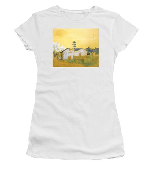 Calm Spring In Jiangnan - Digital Remastered Edition Women's T-Shirt