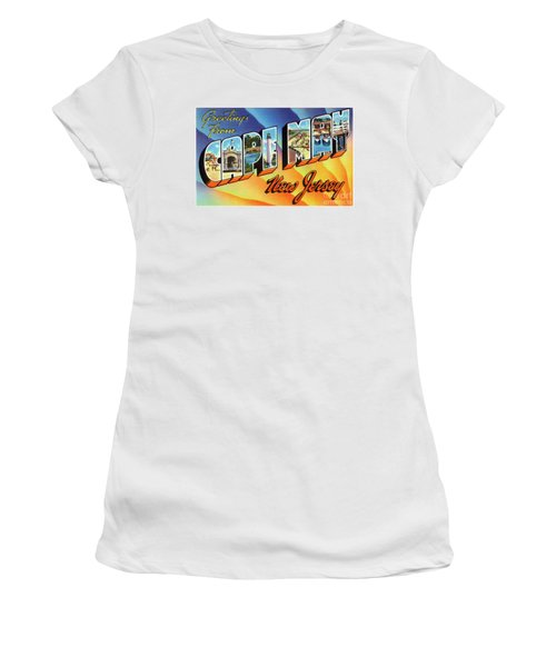 Cape May Greetings - Version 1 Women's T-Shirt