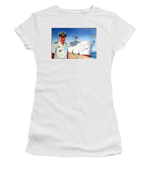 Capt Glen Hallett Women's T-Shirt