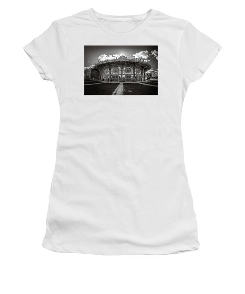 Women's T-Shirt featuring the photograph Carousel House by Steve Stanger
