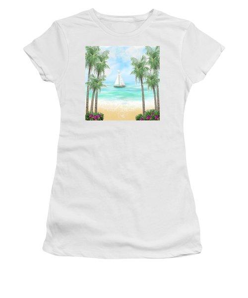 Carribean Bay Women's T-Shirt