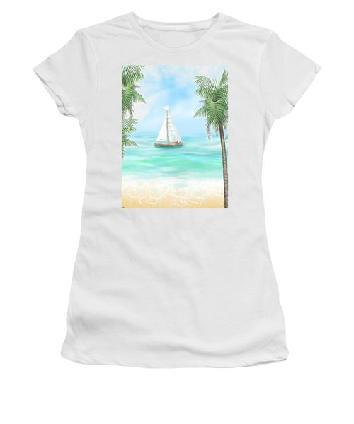 Carribean Bay Women's T-Shirt