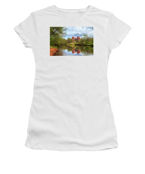 Cathedral Rock Reflection Women's T-Shirt