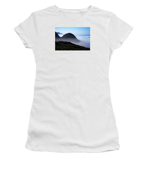Women's T-Shirt (Athletic Fit) featuring the photograph Central Oregon Coast 101718 by Rospotte Photography