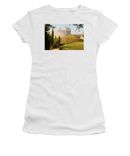 Chateau Beynac In The Mist Women's T-Shirt
