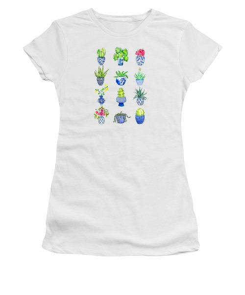 Chinoiserie Cactus Collection Women's T-Shirt