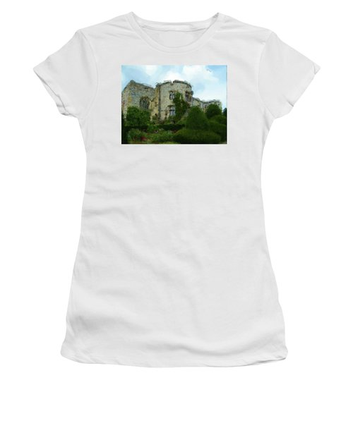 Chirk Castle Painting Women's T-Shirt