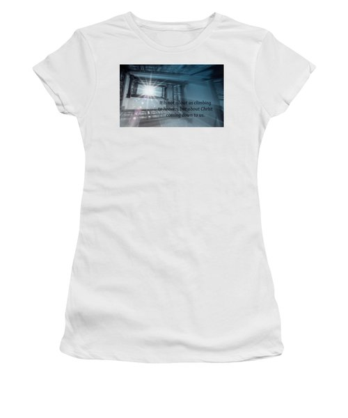 Christ Alone Women's T-Shirt