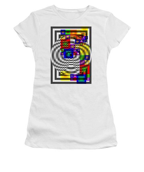 Circular Colour Fusion  Women's T-Shirt