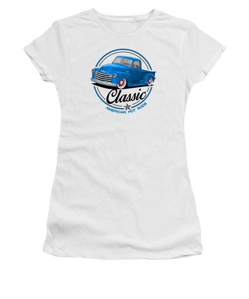 Classic American Hot Rod Women's T-Shirt