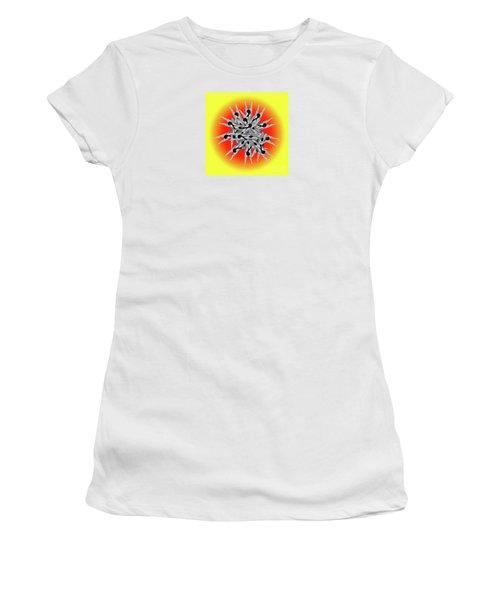 Clothespin Pop Art Warhol Style Print - #1 Women's T-Shirt