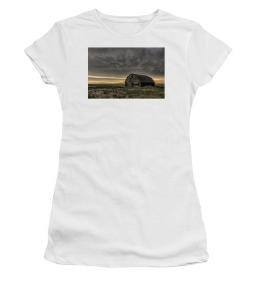 Clouds And Barn Women's T-Shirt