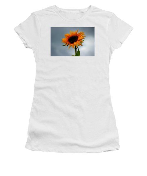 Cloudy Sunflower Women's T-Shirt