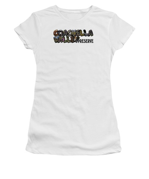 Coachella Valley Preserve Big Letter Women's T-Shirt