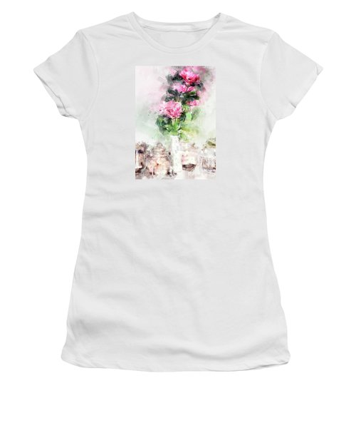 Coffee Shop In Florence Women's T-Shirt