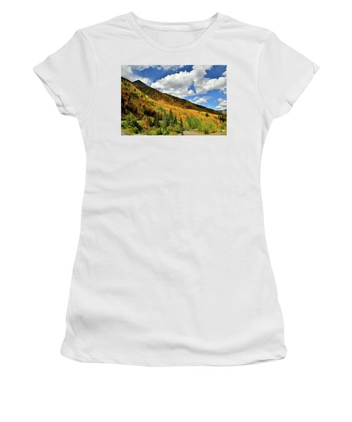 Color In The Spotlight At Red Mountain Pass Women's T-Shirt
