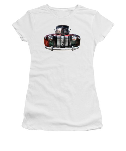 Colorful Rusty Ford Head On Women's T-Shirt