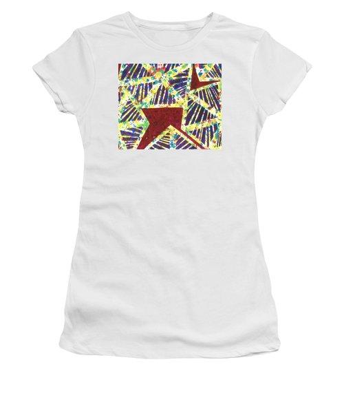 Colourful Webs  Women's T-Shirt