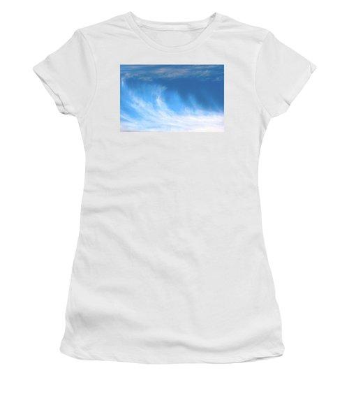 Colours. Blue Women's T-Shirt