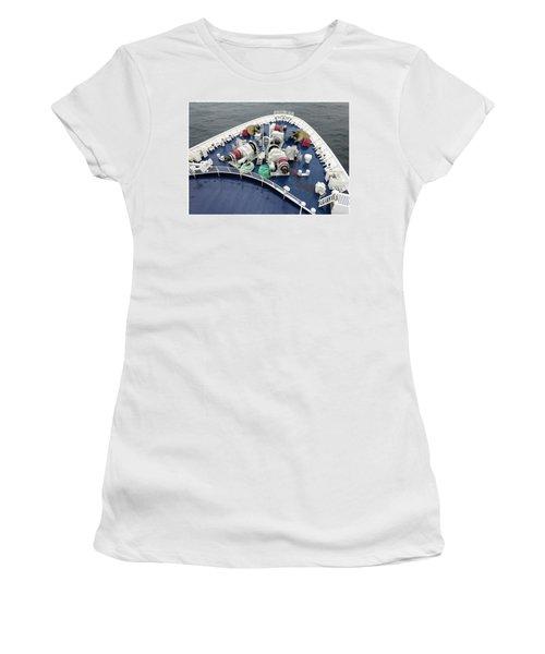 Colours. Sea Green Women's T-Shirt