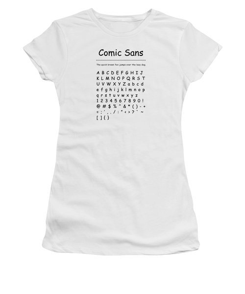 Comic Sans - Most Wanted Women's T-Shirt