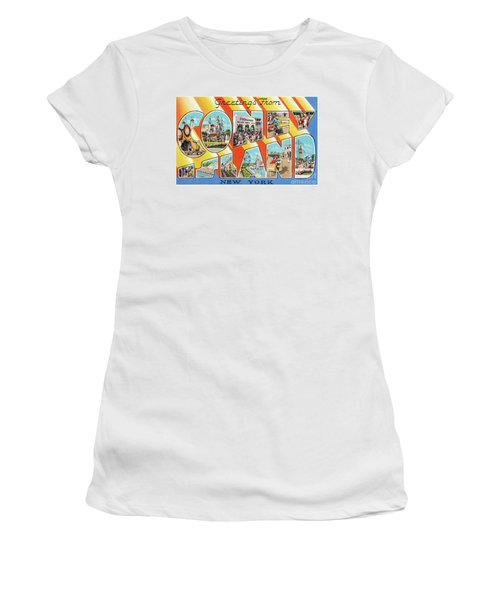 Coney Island Greetings - Version 1 Women's T-Shirt