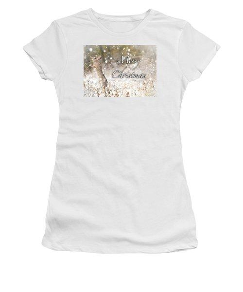 Conttontail Christmas Women's T-Shirt