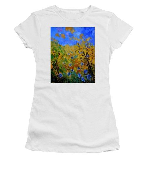 Cornflowers 458101 Women's T-Shirt