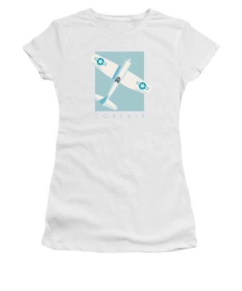 Corsair Fighter Aircraft - Sky Women's T-Shirt