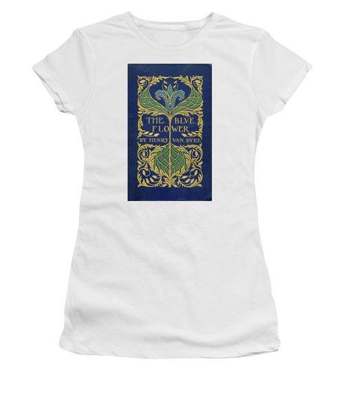 Cover Design For The Blue Flower Women's T-Shirt