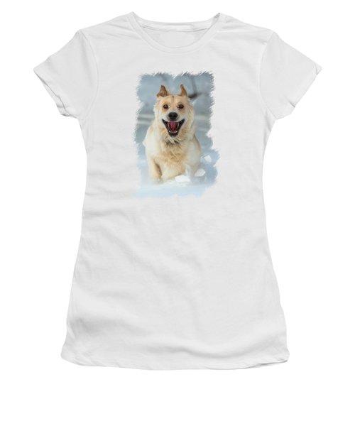 Crazy Dog Transparancy Women's T-Shirt