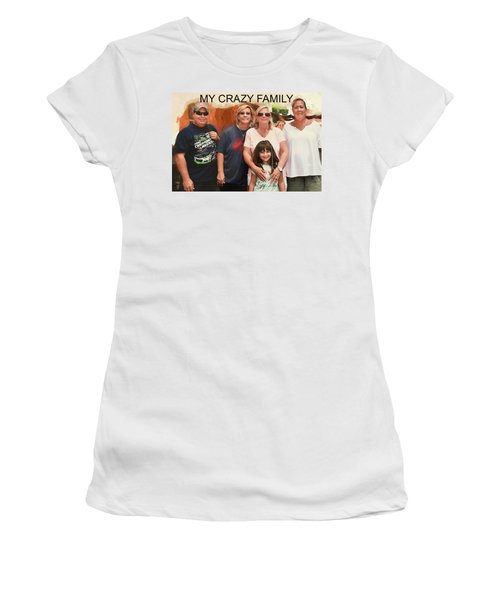 Crazy Family Women's T-Shirt