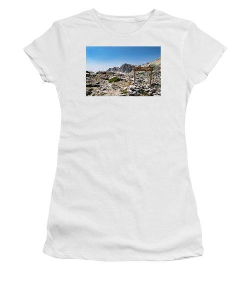 Crossroads At Medicine Bow Peak Women's T-Shirt