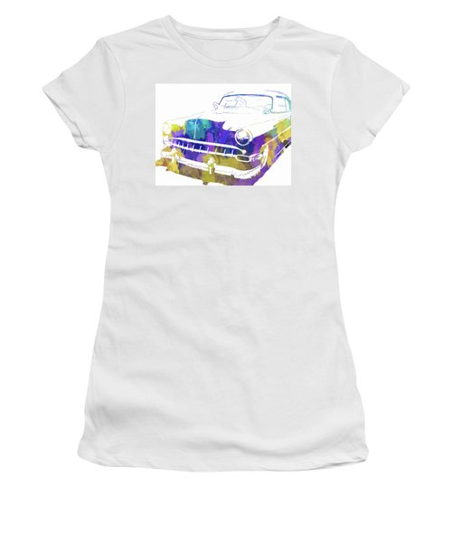 Custom 1954 Chevy Abs Inv Women's T-Shirt