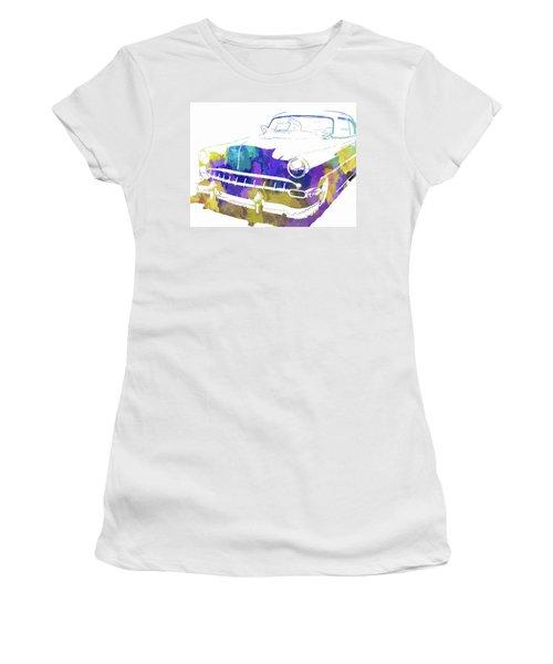 Custom 1954 Chevy Abs Inv Women's T-Shirt