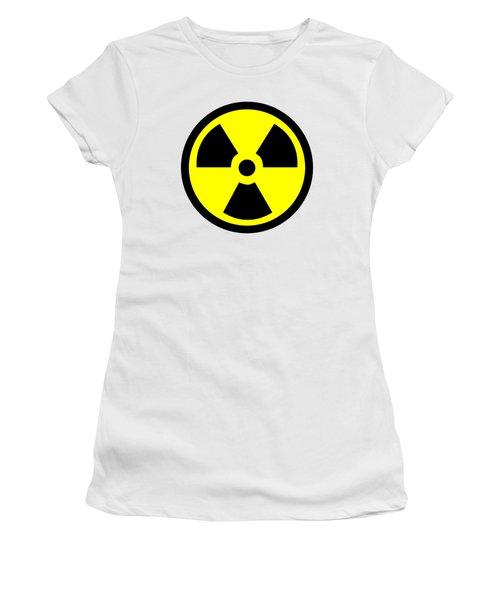 Danger Radiation Sign - Efb256 Women's T-Shirt