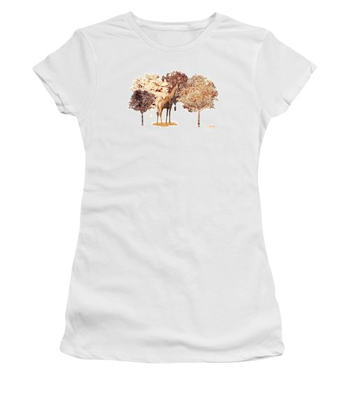 Women's T-Shirt (Athletic Fit) featuring the digital art Day Dreaming by Mike Braun