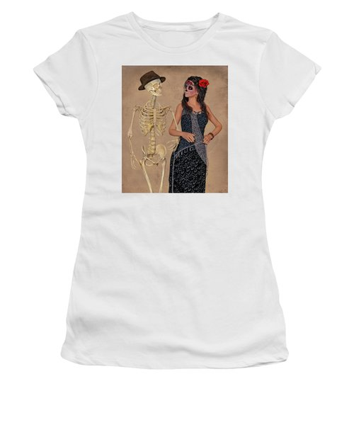 Day Of The Dead Costume Party Women's T-Shirt