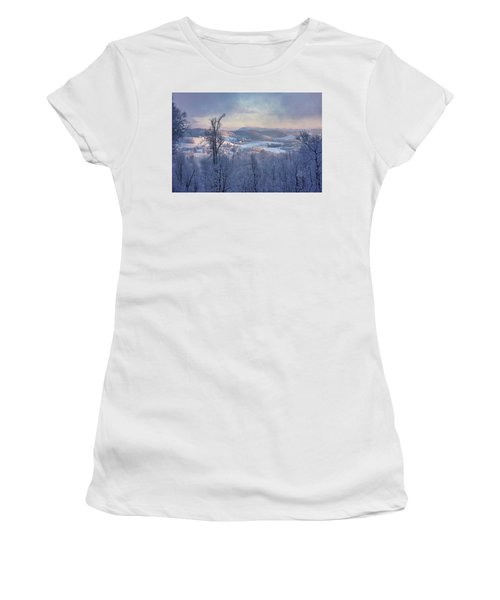Deer Valley Winter View Women's T-Shirt