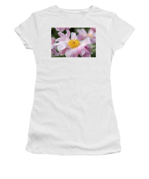Delicate Pink Peony Women's T-Shirt