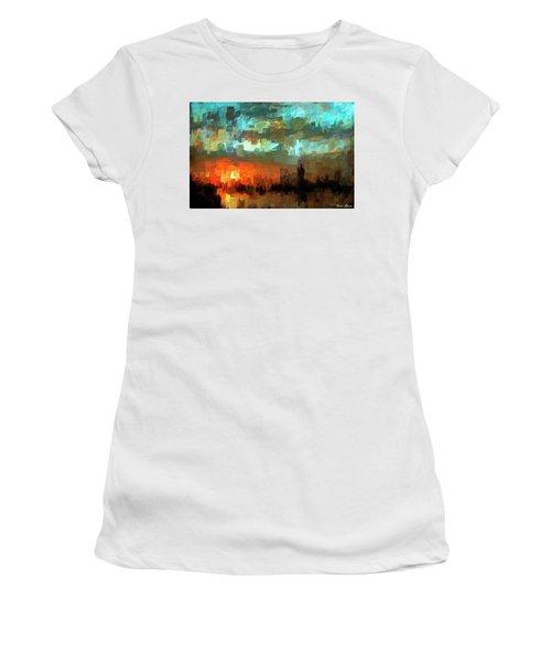 Detroit Days End Women's T-Shirt