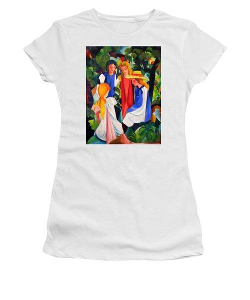 Digital Remastered Edition - Four Girls Women's T-Shirt